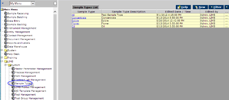 Sample Types List Screen Canna.png