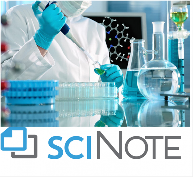 File:SciNote Logo with Research Lab Image.png